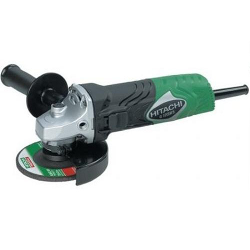 Factory Reconditioned Hitachi G12SR3 4-1/2 in. 6 Amp Slide Switch Small Angle Grinder