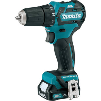 Makita FD07R1 12V max CXT Lithium-Ion Brushless 3/8 in. Cordless Drill Driver Kit (2 Ah) image number 1