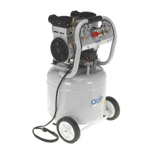 Quipall 10-2-SIL 2 HP 10 Gallon Oil-Free Portable Air Compressor image number 0