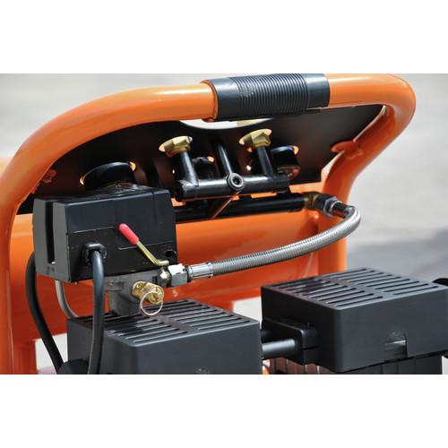 4 Gallon HULK Silent Series 120 PSI 1.5 HP Quiet Portable Air Compressor Model HP15P004SS by EMAX Compressor
