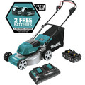 Makita XML03PT1 18V X2 (36V) LXT Lithium-Ion Brushless 18 in. Lawn Mower Kit with 4 Batteries (5.0Ah) image number 2