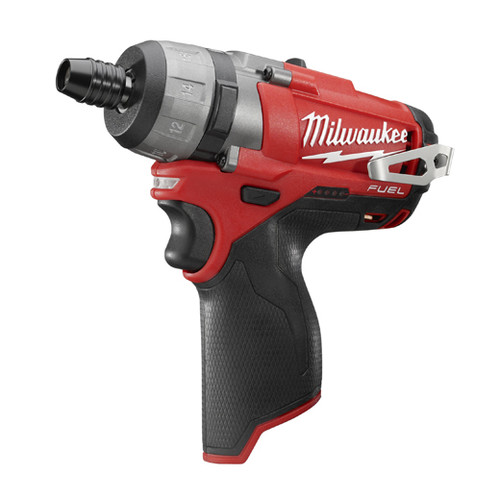 Factory Reconditioned Milwaukee 2402-80 M12 FUEL Lithium-Ion 1/4 in. Hex 2-Speed Screwdriver (Bare Tool)