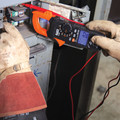 Klein Tools CL800 Digital AC TRMS Low Impedance Cordless Auto-Range Clamp Meter Kit image number 5