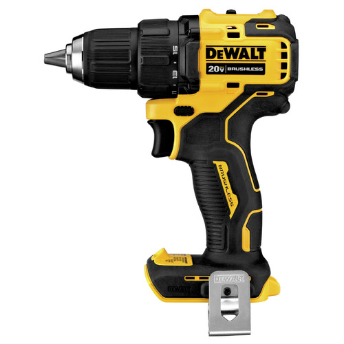 Dewalt DCD708B ATOMIC 20V MAX Brushless Compact 1/2 in. Cordless Drill Driver (Tool Only) image number 0