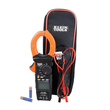 Klein Tools CL900 2000 Amp Digital AC Low Impedance Cordless Auto-Range Clamp Meter Kit