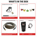 Simpson 65202 Super Pro 3600 PSI 2.5 GPM Direct Drive Small Roll Cage Professional Gas Pressure Washer with AAA Pump image number 1