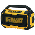 Factory Reconditioned Dewalt DCR010R 12V/20V MAX Lithium-Ion Jobsite Corded/Cordless Bluetooth Speaker (Tool Only) image number 1