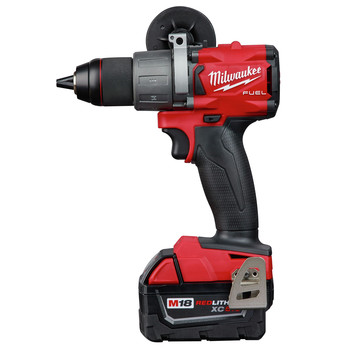 Milwaukee 2803-22 M18 FUEL Lithium-Ion 1/2 in. Cordless Drill Driver Kit (5 Ah) image number 2
