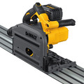 Dewalt DCS520ST1 FLEXVOLT 60V MAX 6-1/2 in. (165mm) Cordless Track Saw Kit with 59 in. Track image number 2