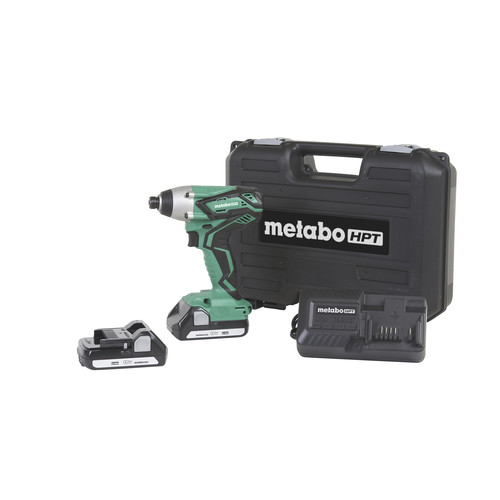 Metabo HPT WH18DGLM 18V Variable Speed Lithium-Ion 1/4 in. Cordless Impact Driver Kit (1.3 Ah) image number 0