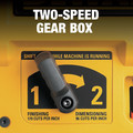 Dewalt DW735X 13 in. Two-Speed Thickness Planer with Support Tables and Extra Knives image number 12