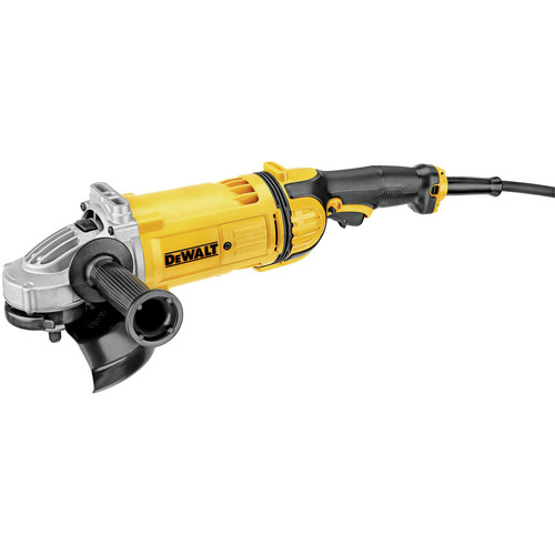 Dewalt DWE4557 7 in. 8,500 RPM 4.7 HP Angle Grinder with Lock-On