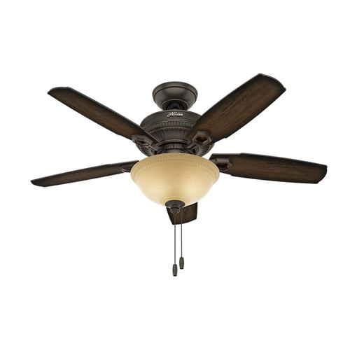Hunter 52232 44 in. Ambrose Ceiling Fan with Light Kit