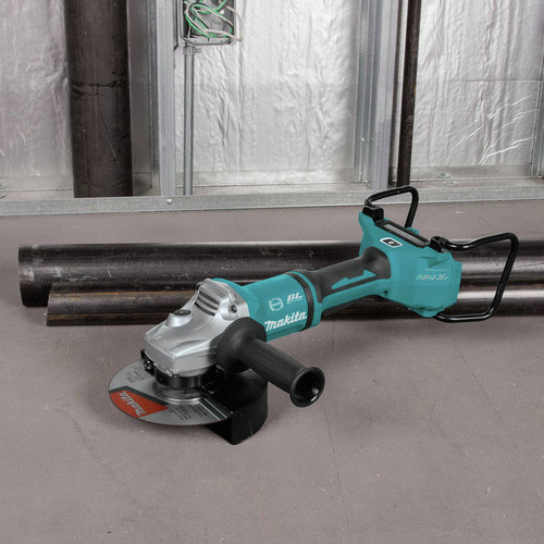 Makita XAG22ZU1 18V X2 LXT Lithium-Ion Brushless Cordless 7 in. Paddle Switch Cut-Off/Angle Grinder with Electric Brake and AWS  (Tool Only) image number 13