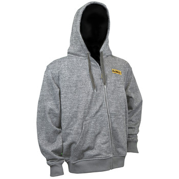 Dewalt DCHJ080B-L 20V MAX Li-Ion Heathered Gray Heated Hoodie (Jacket Only) - Large