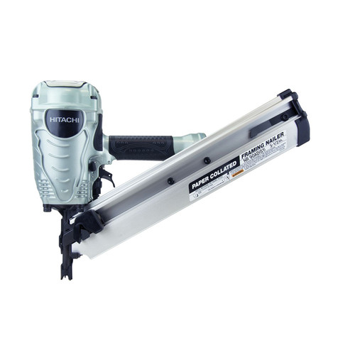 Factory Reconditioned Hitachi NR90ADS1 Hitachi NR90ADS1 3-1/2 in. Paper Collated Framing Nailer image number 0