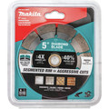 Makita B-69618 1-Piece General Purpose Segmented 5 in. Diamond Blade image number 1