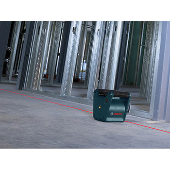 Bosch GRL300HVCK Self-Leveling Rotary Laser with Layout Beam Complete Kit image number 2