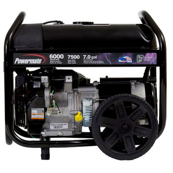 Factory Reconditioned Powermate PM0126000R 6,000 Watt 414cc Gas Portable Generator image number 1