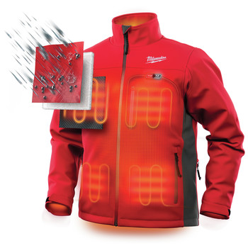 Milwaukee 202R-20L M12 12V Li-Ion Heated ToughShell Jacket (Jacket Only) image number 4