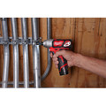 Factory Reconditioned Milwaukee 2462-80 M12 12V Lithium-Ion 1/4 in. Hex Impact Driver (Tool Only) image number 3