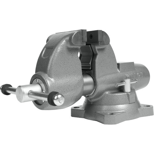 Wilton 28826 C-1 Combination Pipe and Bench 4-1/2 in. Jaw Round Channel Vise with Swivel Base image number 0