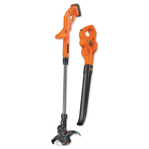 Black & Decker LCC221 20V MAX 1.5 Ah Cordless Lithium-Ion String Trimmer and Sweeper Combo Kit