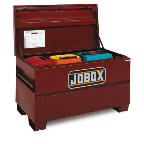 JOBOX 1-652990 36 in. Heavy-Duty Steel Chest with Site-Vault Security System (Open Box) image number 0