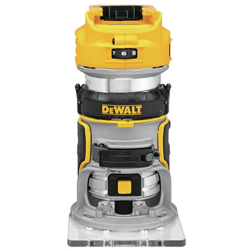 Dewalt DCW600B 20V MAX XR Cordless Compact Router (Tool Only) image number 0