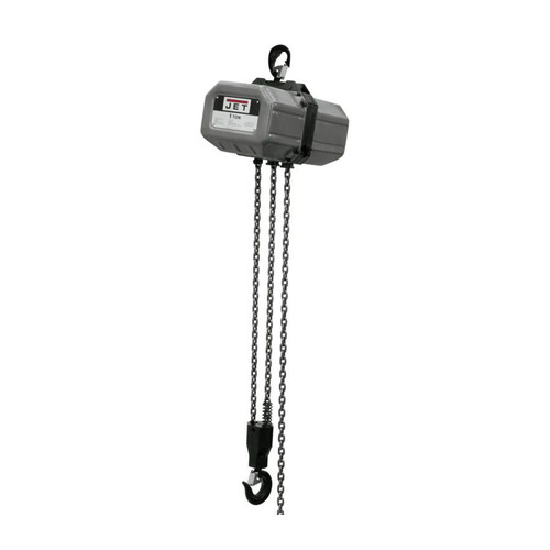 JET 1SS-1C-10 1 Ton Capacity 10 ft. 1-Phase Electric Chain Hoist