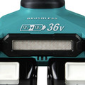 Makita XAG13PT1 18V X2 LXT Lithium-Ion (36V) Brushless Cordless 9 in. Paddle Switch Cut-Off/Angle Grinder Kit with Electric Brake image number 4