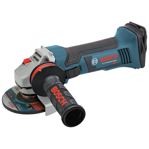 Factory Reconditioned Bosch GWS18V-45-RT 18V Lithium-Ion 4-1/2 in. Angle Grinder (Bare Tool)