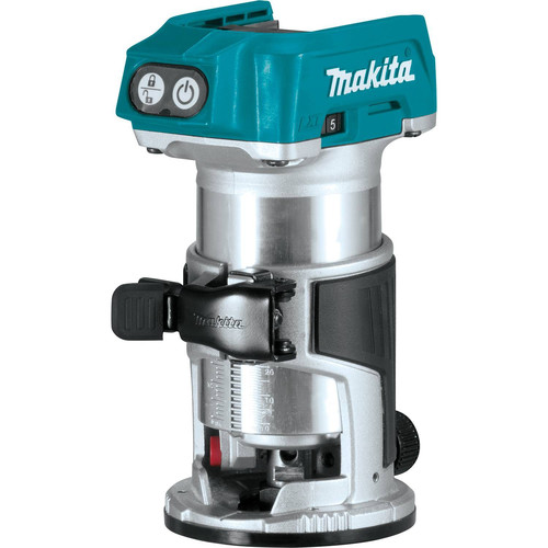 Makita XTR01Z 18V LXT Cordless Lithium-Ion Brushless Compact Router (Tool Only) image number 0