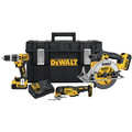 Dewalt DCKTS381M2 20V MAX 4Ah 3-Tool Kit with Tough SystemKit Box