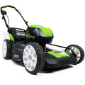 Greenworks GLM801601 80V Lithium-Ion 21 in. 3-in-1 Lawn Mower Kit image number 1
