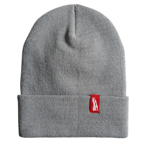 Milwaukee 506G Acrylic Cuffed Beanie - Gray image number 0