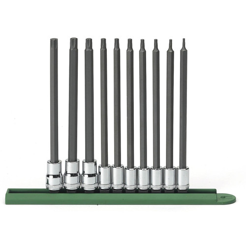 GearWrench 80588 10-Piece Long TORX Bit Socket Set image number 0