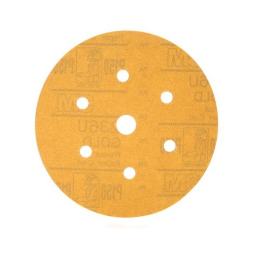 3M 1083 6 in. P80C Hookit Gold Disc D/F (75-Pack)