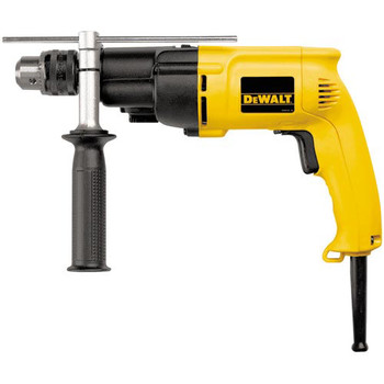 Factory Reconditioned Dewalt DW505R 7.8 Amp 0 - 1000 / 0 - 2700 RPM Variable Speed Dual Range 1/2 in. Corded Hammer Drill