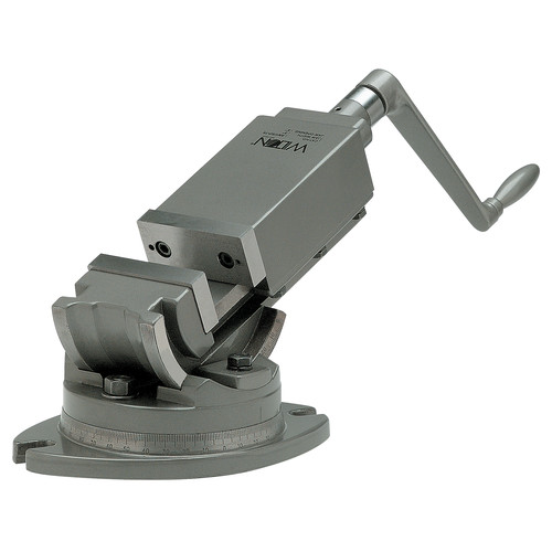 Wilton 11706 2 Axis Angular Vise, 5 in. Jaw Width, 5 in. Jaw Opening, 2 in. Jaw Depth image number 0