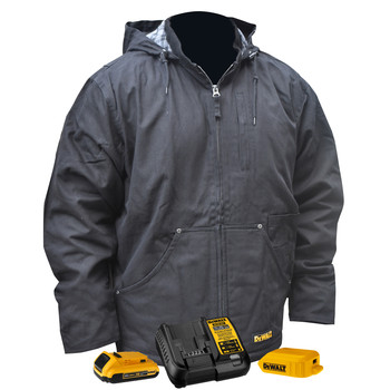 Dewalt DCHJ076D1-S 20V MAX Li-Ion Hooded Heated Jacket Kit image number 0