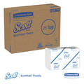 Scott 01960 Scottfold Paper Towels, 7 4/5 X 12 2/5, White, 175 Towels/pack, 25 Packs/carton image number 2