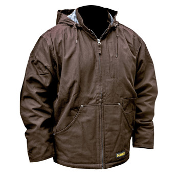 Dewalt DCHJ076ATB-3X 20V MAX Li-Ion Heavy Duty Heated Work Coat (Jacket Only) image number 0