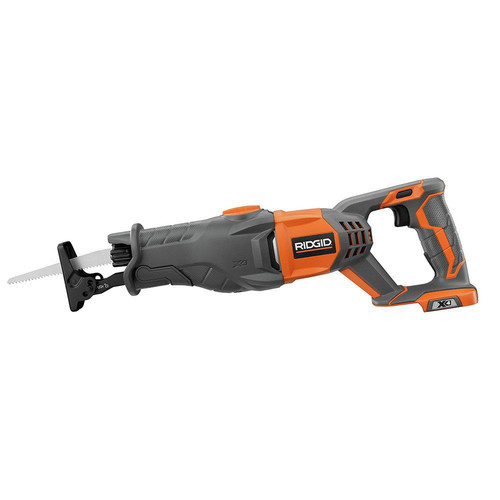 Factory Reconditioned Ridgid ZRR8641B X4 18V Compact Lithium-Ion Reciprocating Saw (Tool Only)