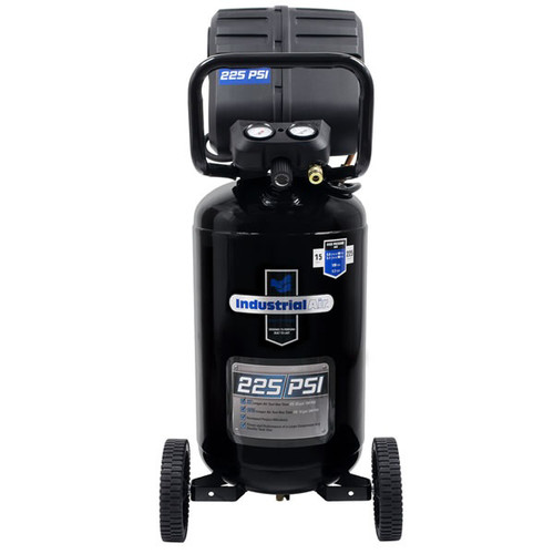 Industrial Air C151I VX 1.7 HP 15 Gallon Oil-Free Wheeled Vertical Air Compressor