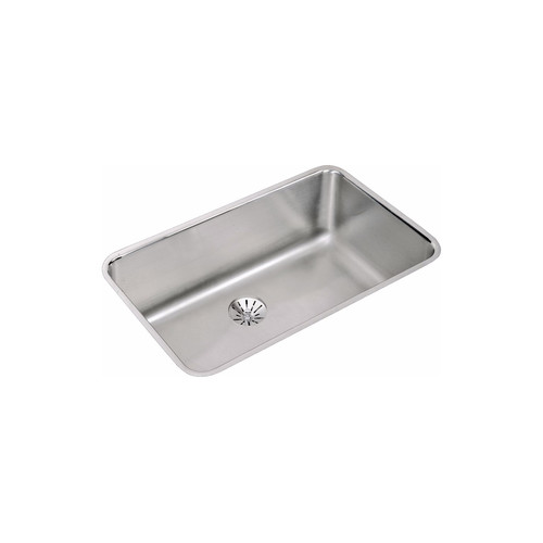 Elkay ELUH281610PD 18-Gauge Stainless Steel 30.5 x 18.5 x 10 in. Single Bowl Undermount Kitchen Sink