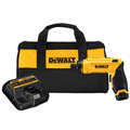 Factory Reconditioned Dewalt DCF680N1R 8V MAX Cordless Lithium-Ion Gyroscopic Screwdriver Kit