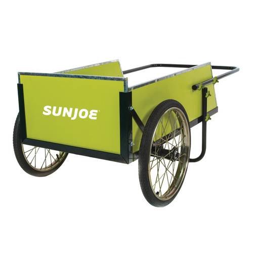 Sun Joe SJGC7 7 Cubic Foot Heavy Duty Garden plus Utility Cart