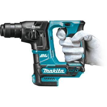 Makita RH01Z 12V MAX CXT Lithium-Ion Brushless Cordless 5/8 in. Rotary Hammer, accepts SDS-PLUS bits, (Tool Only) image number 2