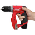 Milwaukee 2505-22 M12 FUEL Brushless Lithium-Ion 3/8 in. Cordless Installation Drill Driver Kit (2 Ah) image number 16
